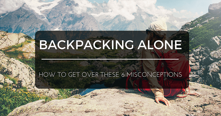 backpacking alone