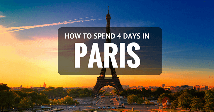 4 days in Paris