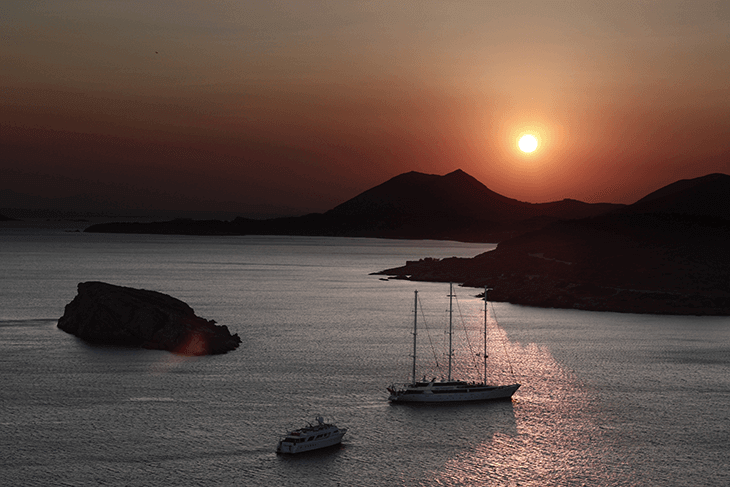 Cape Sounion in Athens Greece