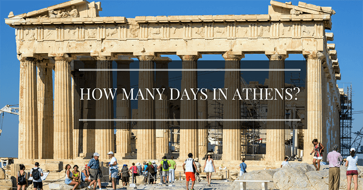 How many days in Athens