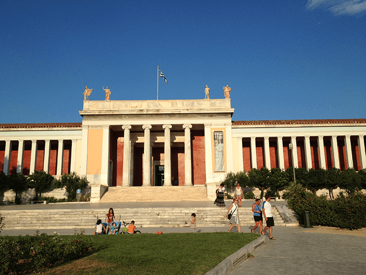 National Archaelogical Museum in Athens Greece