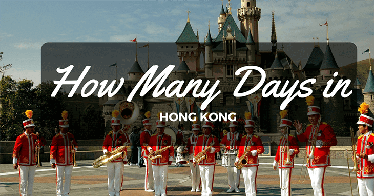 How many days in Hong Kong?
