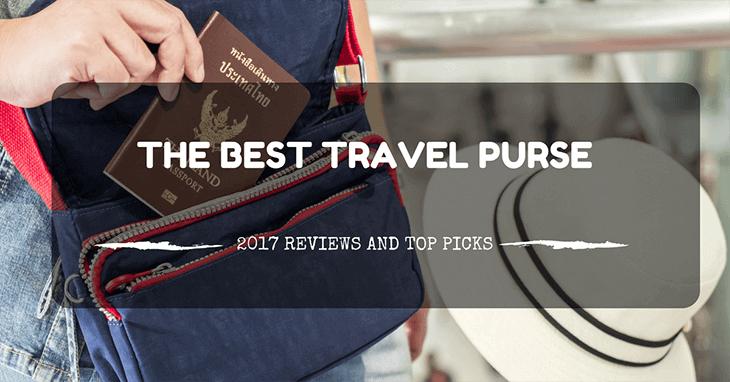 best travel purse