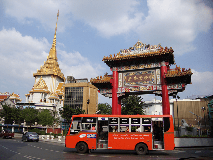 Best Area to Stay in Bangkok for Sightseeing: China Town in Bangkok