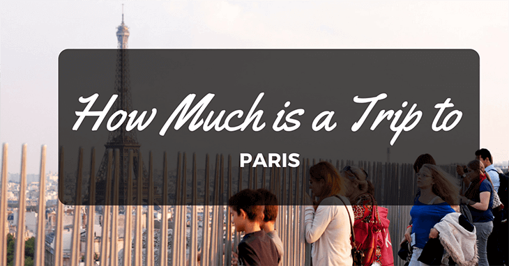 How much is a trip to Paris