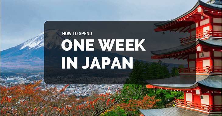 one week in Japan