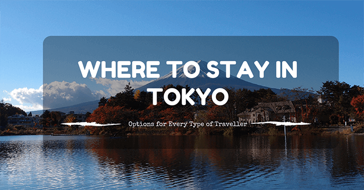 where to stay inTokyo