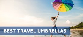 Best Travel Umbrellas Reviews – Extra Golf & Inverted Umbrella