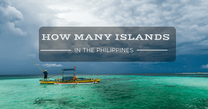 How many islands in the Philippine
