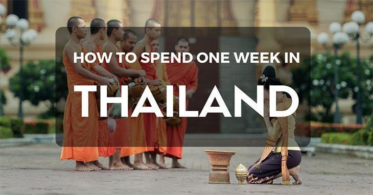 One week in Thailand