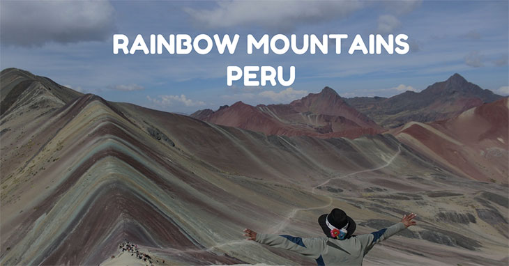 Rainbow moutains peru