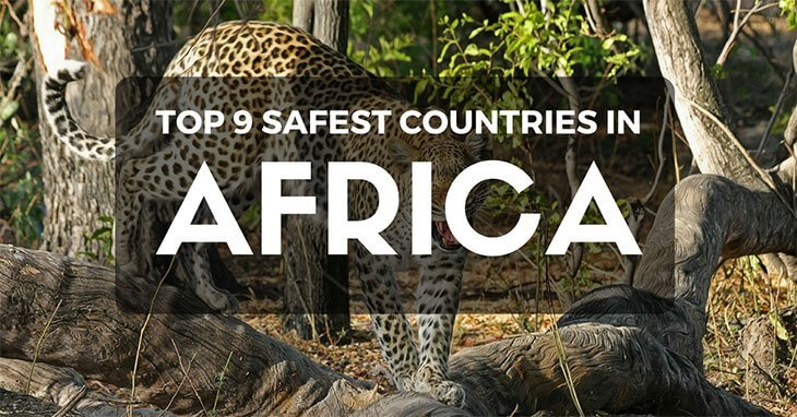 safest countries in africa