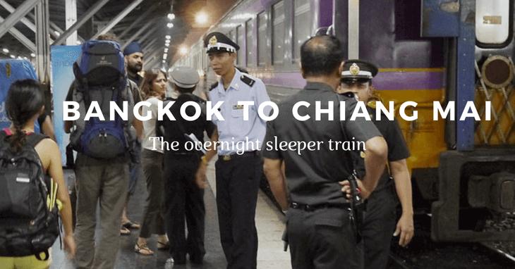 Bangkok to Chiang Mai train