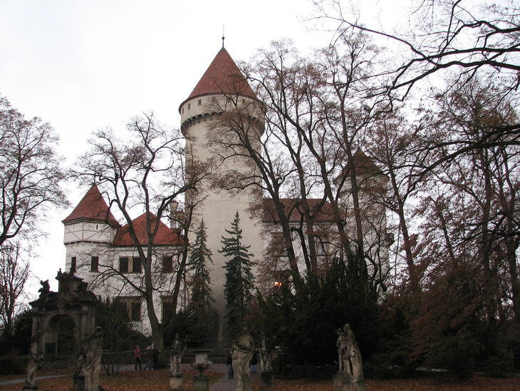 Best day trips from Prague Konopiste Castle