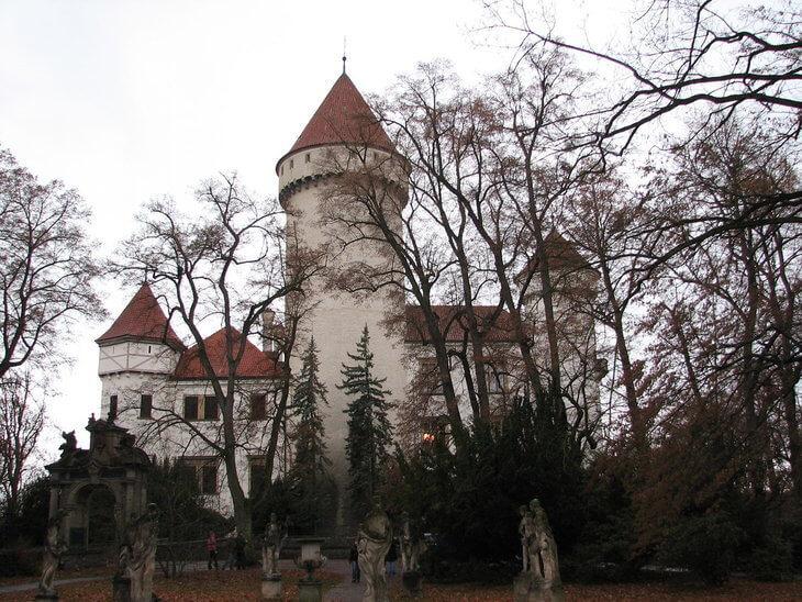 Best day trips from Prague Konopiste Castle