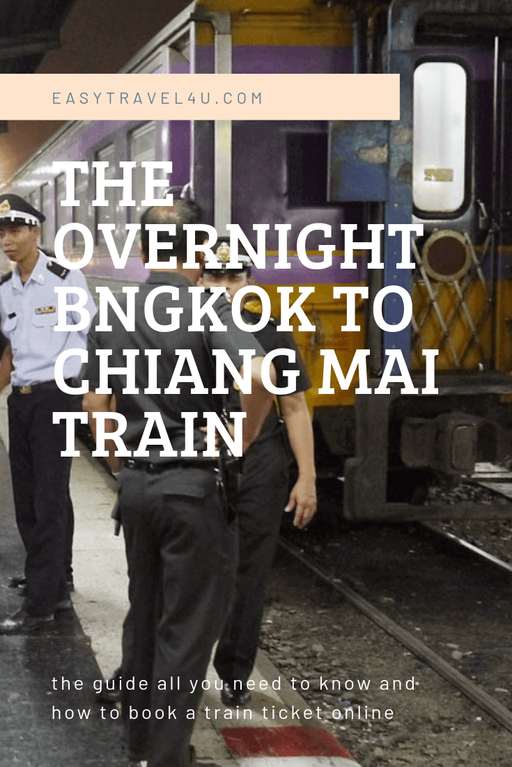 The overnight Bangkok to Chiang Mai train