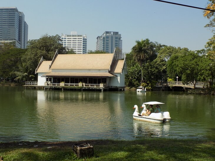 Best Area to Stay in Bangkok for Sightseeing: Lumpini Park