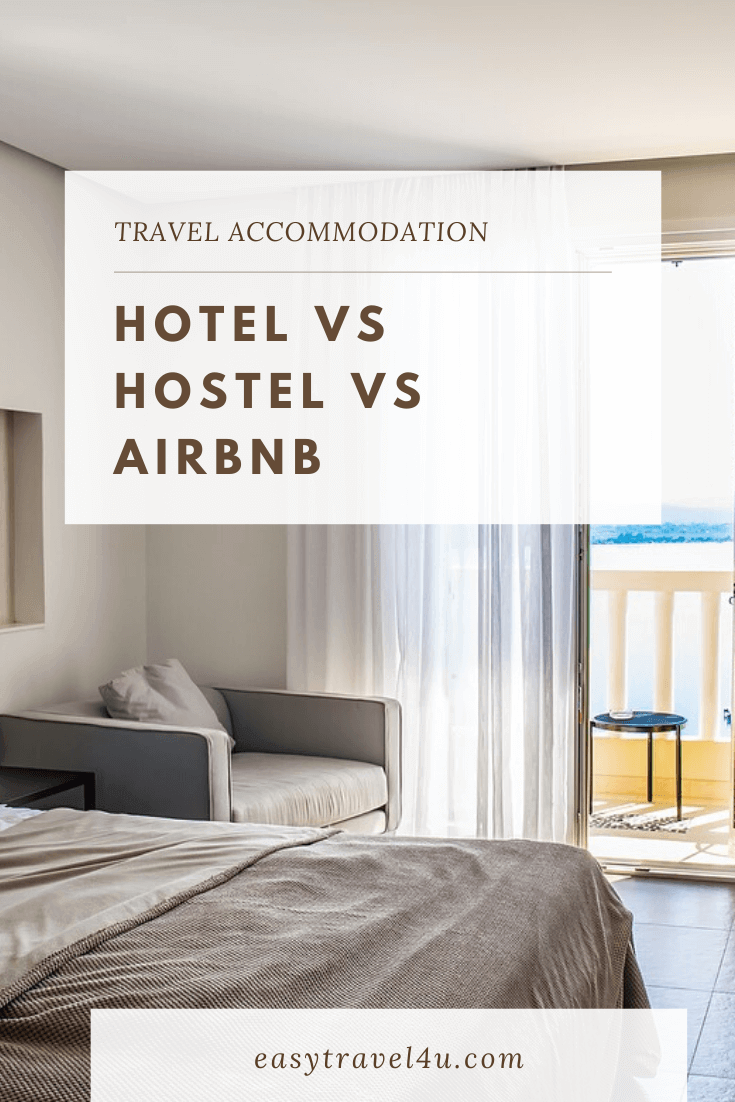 Hotel vs Hostel vs Airbnb
