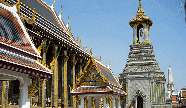 Rattanakosin (Old City) the best area to stay in Bangkok for backpackers and sightseeing