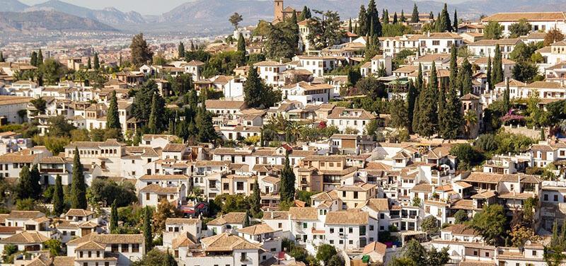 Albaicin - best area to stay in granada