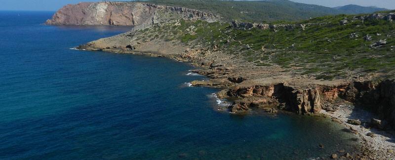 Cala Blanca menorca beach