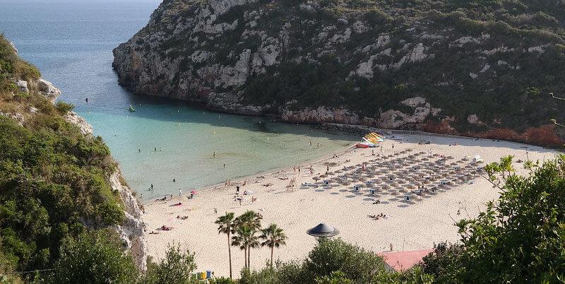 Cala En Porter best place to stay in menorca for beautiful sun set
