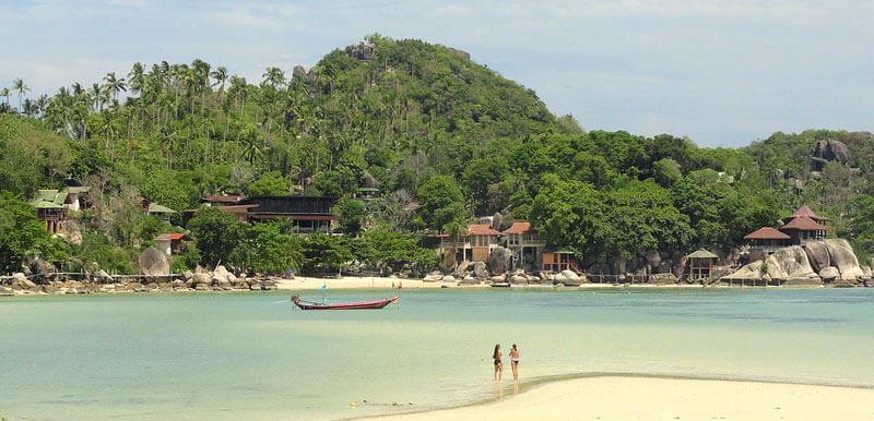 best place to stay in Koh Tao: Chalok Baan Kao Bay