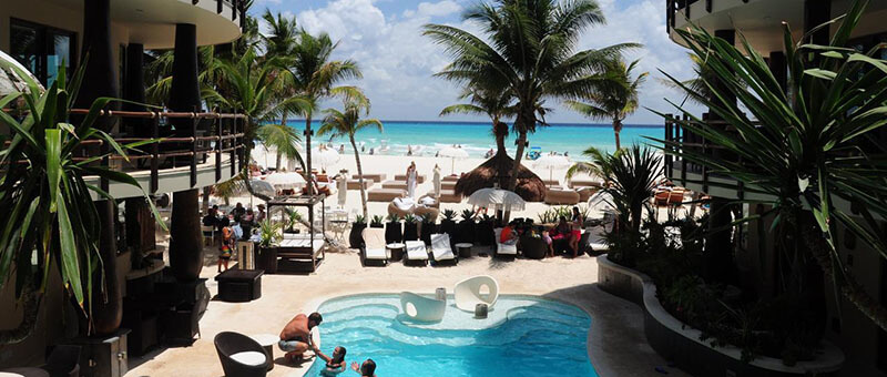 Best Playa del Carmen Hotel: El Taj Oceanfront and Beachside Condo Hotel