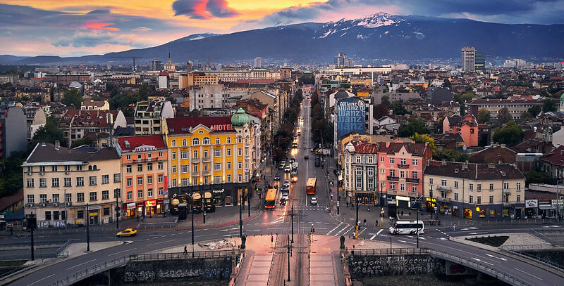 Where to Stay in Sofia Bulgaria: Lion's Bridge