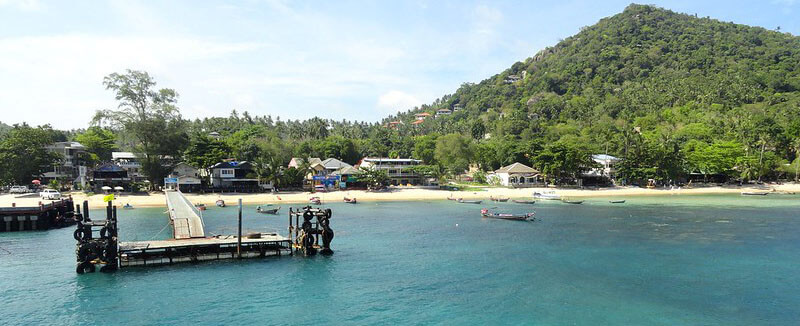 where to stay in koh tao for solo travellers: Mae Haad Bay