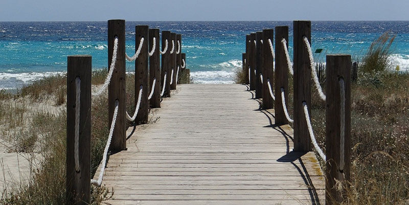 Son Bou where to stay in menorca for beautiful beaches