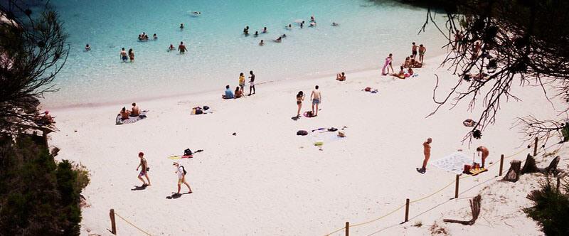 Best beaches in Menorca Cala Macarelleta