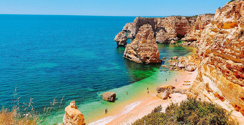 Best Place to stay in algarve for coastal views Lagoa