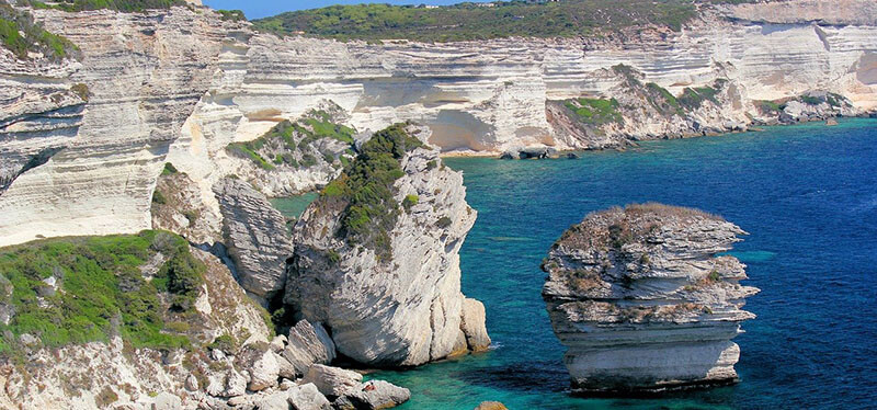 where to stay in corsica for best view: Bonifacio