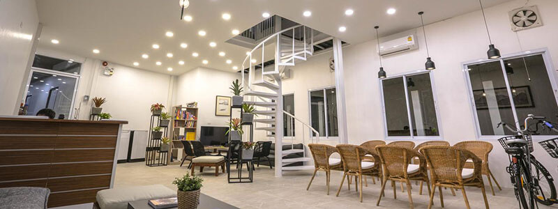 best hotels in chiang Rai: connect hostel chiang rai thailand