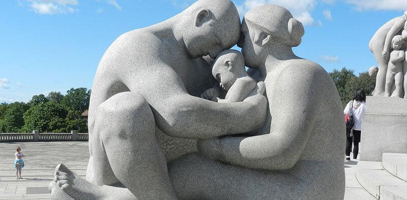 Best neighborhood in Oslo Frogner Park Oslo