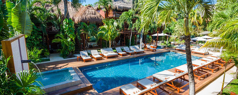 Best Playa del Carmen Luxury Hotels: Magic Blue Spa Boutique Hotel Adults Only