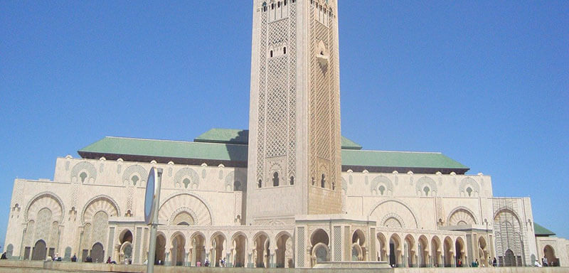 Hassan II Mosque most popular place to stay in Casablanca