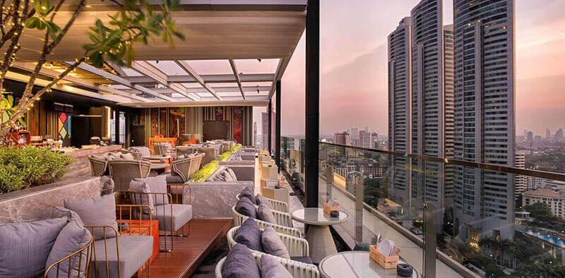 Best Luxury Hotels in Bangkok with Infinity Pool:  Novotel Bangkok Sukhumvit 20 - SHA Certified