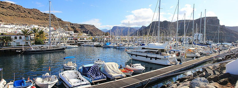 where to stay in gran canaria - Puerto de Mogan