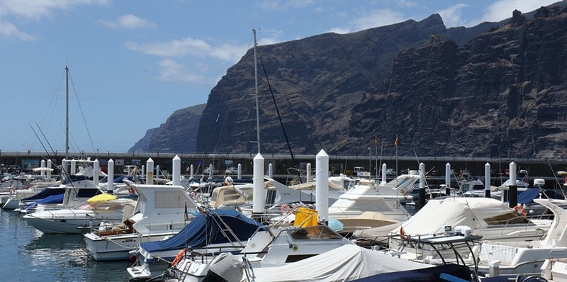 Los Gigantes quiet area to stay in Tenerife