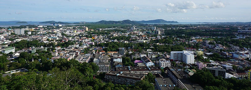 Where to Stay in Phuket on budget: phuket town