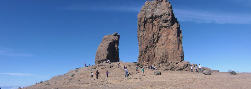 Walk in Roque Nublo National Park  gran canria