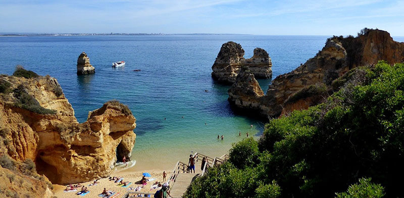 Where to stay in Algarve for Beached Lagos