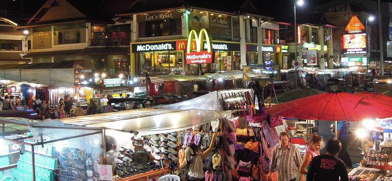 How Many Days In Chiang Mai: Night Bazaar