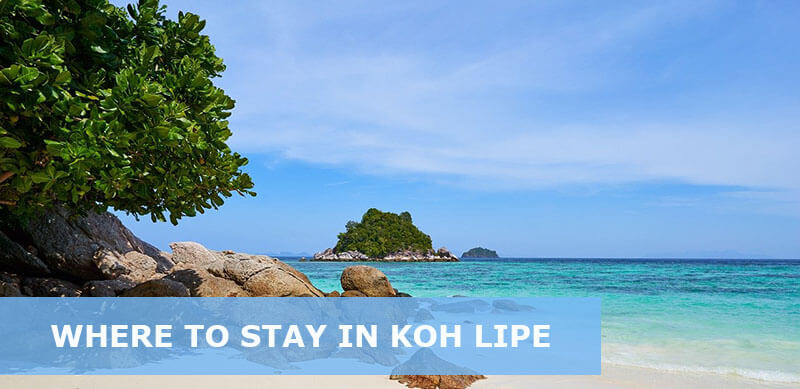 where to stay in koh lipe thailand