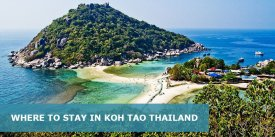 Where to Stay in Koh Tao Thailand: Best Area & Hotel Travel Guide