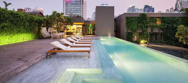 Best Luxury Hotels in Bangkok with Infinity Pool: Ad Lib