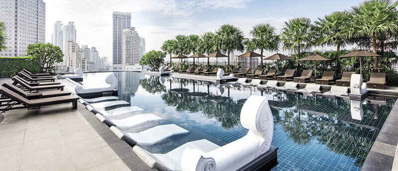 Best Luxury Hotels in Bangkok with Infinity Pool: Grande Centre Point Hotel Terminal21