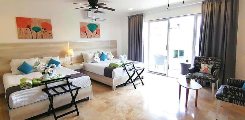 Playa del carmen family hotel: 5th Coral Suites